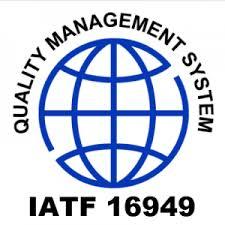 International Automotive Task Force IATF 16949:2016 Certification