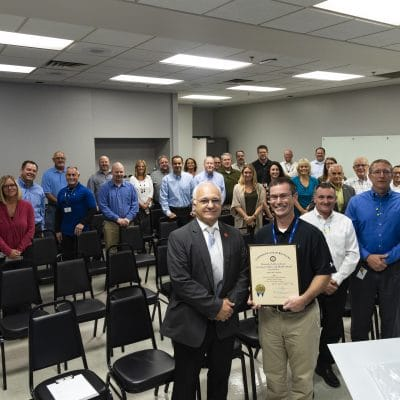 Gibbs Wins Kentucky Governor's Safety and Health Award