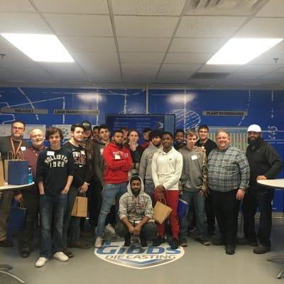 HCHS Students Visit Gibbs